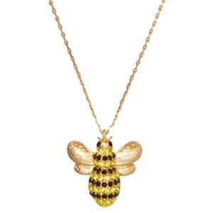 Kate Spade Picnic Perfect Bee Pendant Necklace